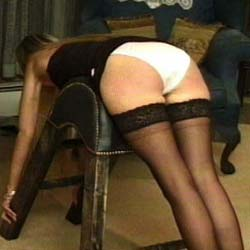 Caning is the name of this game  three young women caned by their english dominatrix some with panties some without   she seems to enjoy her work as most dominatrixes do. Three young women caned by their English mistress, some with panties, some without.  She seems to enjoy her work as most mistresses do.