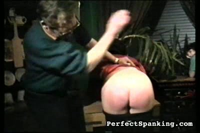 Two girls punish by two men and each other. Two girls suspected of theft get bare ass spanking.  A flash of pussy sweetens this video.