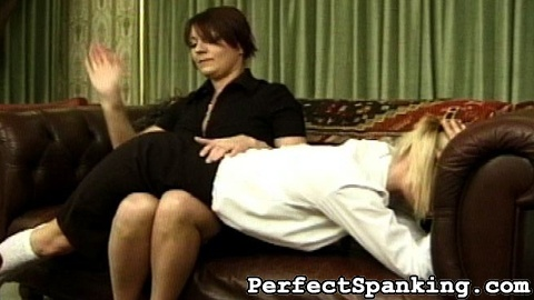 Disobedient school girls 93. One of Britain's toughest Mistresses is incredibly angry at two of her school girls. They were appointed work, which they ignored and did not complete.