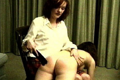 Bare handed spanking 67 They can stay for awhile, but they have to earn it. One by one, she takes them over her knee, pulls down their panties, and gives them a good bare handed spanking..